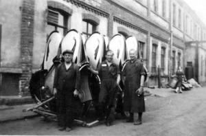 Historisches Foto, Werkshof Lindentaler Straße