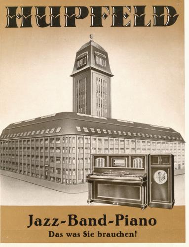Führung – 125. Geburtstag der Klavierfabrik von Ludwig Hupfeld – 11.00 Uhr