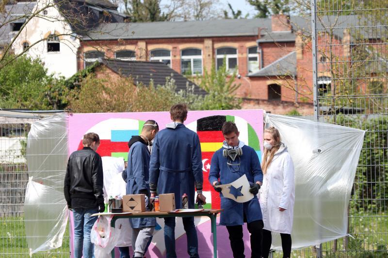 Ausstellungseröffnung: Grenzen überschreiten – hervorragende Schülerarbeiten der Neustadtschule Weißenfels