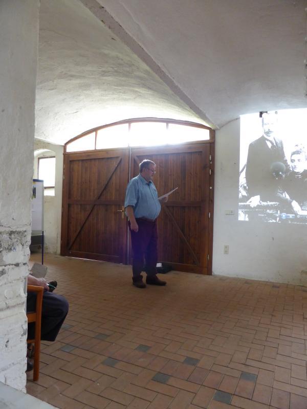 Informationsveranstaltung zur Alten Zuckerfabrik Mühlbach