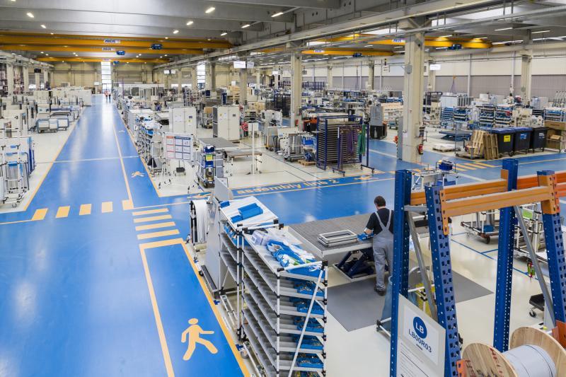 Betriebsführung bei der DencoHappel Production GmbH