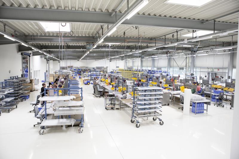 Unternehmensführung bei der SBF Spezialleuchten GmbH