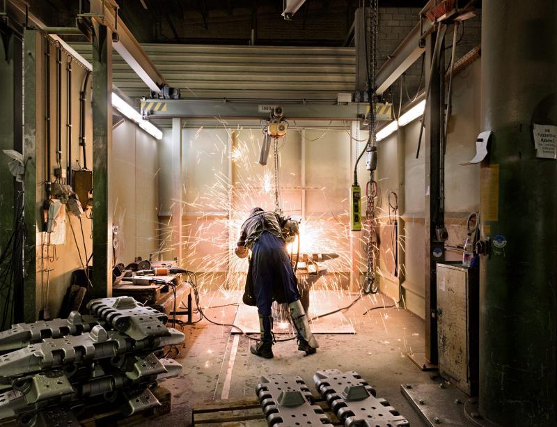 Führung durch das Stahl- und Hartgußwerk Bösdorf