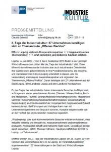 Pressemitteilung IHK 2015