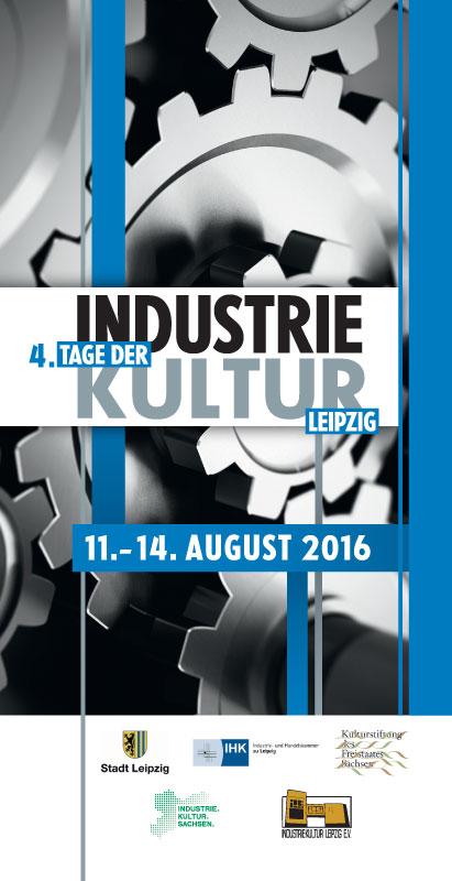 Werbekarte 4.Tag der Industriekultur Leipzig