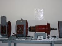 Gleichstrommotor zerlegt