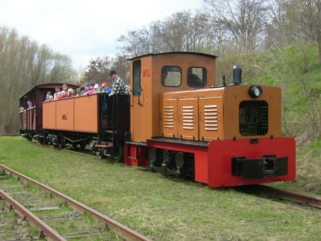 Tag der offenen Tür und Fahrten mit der Feldbahn – Tag 1