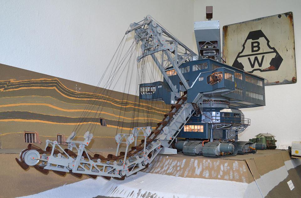 Besichtigung des Bergbau-Museums Deuben