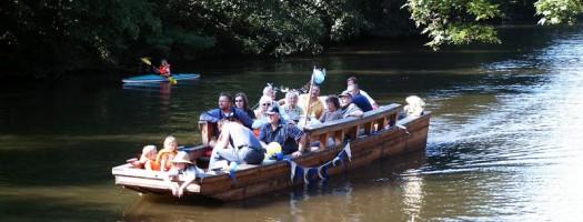 Westwärts – mit der Schute »Luise« – Motorbootstour mit Gästeführer – 25.08., 12.00 Uhr