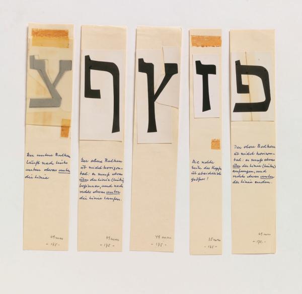 Führung: New Types - Drei Pioniere des hebräischen Grafik-Designs