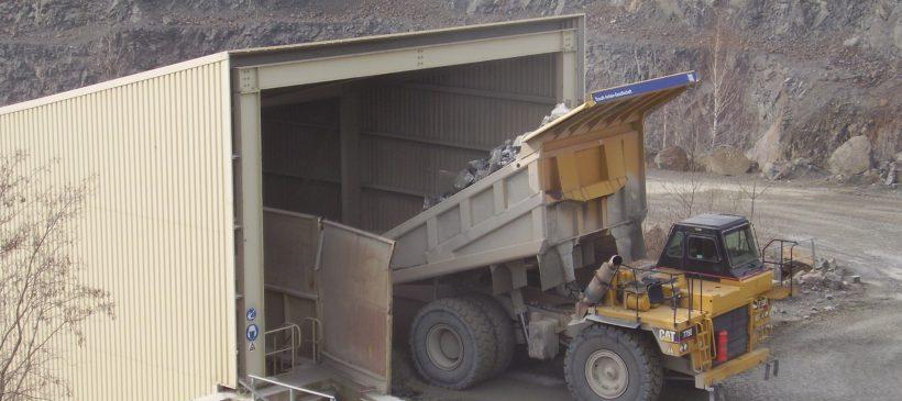 Betriebsführung im Steinbruch Lüptitz mit Blick in den Tagebau und kurzer Rundgang entlang der Aufbereitungsanlage – 12.08., 8.00 Uhr