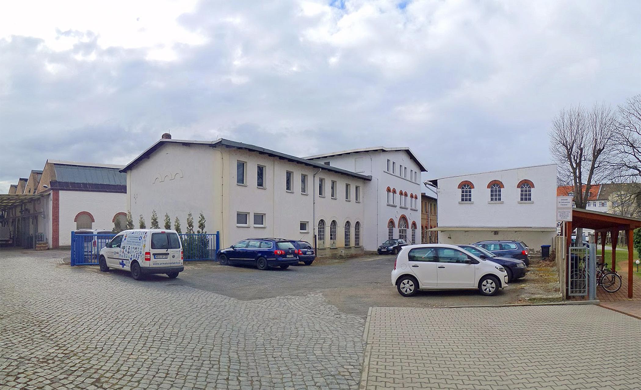 Tafeleinweihung StadtwanderwegIndustriekulturWurzen und Führung durch das Unternehmen Industriefabrik Schneider GmbH Werk II Wurzen