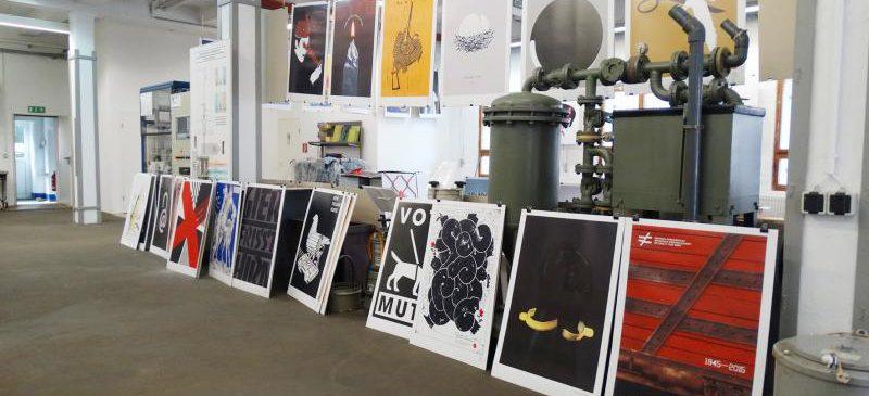 Plakatausstellung »Internationale Plakate zur Gegenwart«