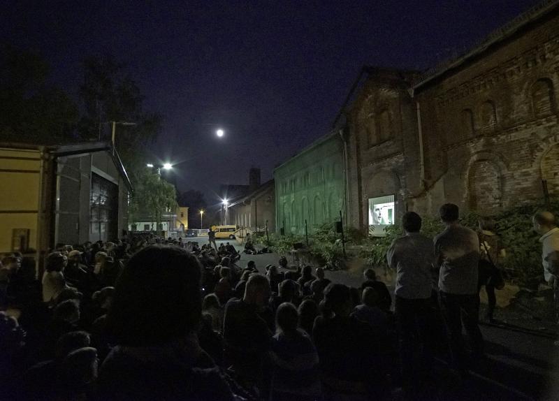 Führung »Kino der Jugend / Gasanstalt Ost – Wie geht es weiter?« & Open Air-Kino