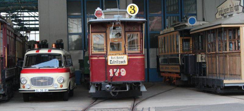 Führung im Historischen Straßenbahnhof Möckern
