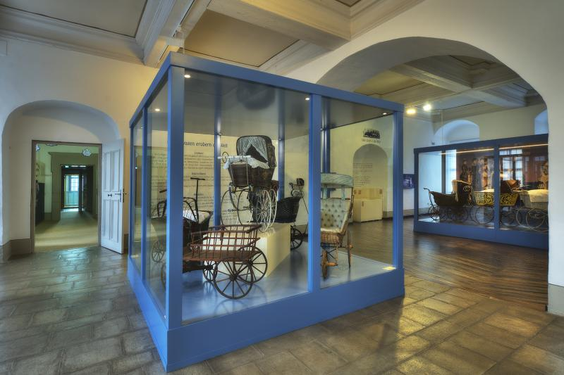 Ausstellung im Deutsches Kinderwagenmuseum im Museum Schloss Moritzburg Zeitz – 23.08.–26.08.