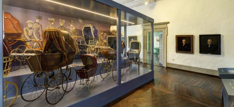 Ausstellung im Deutschen Kinderwagenmuseum, 13.08., 10.00-18.00 Uhr