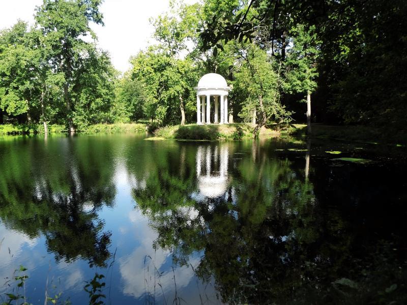 Spaziergang durch den Schloßpark Lützschena mit Benjamin Dörr