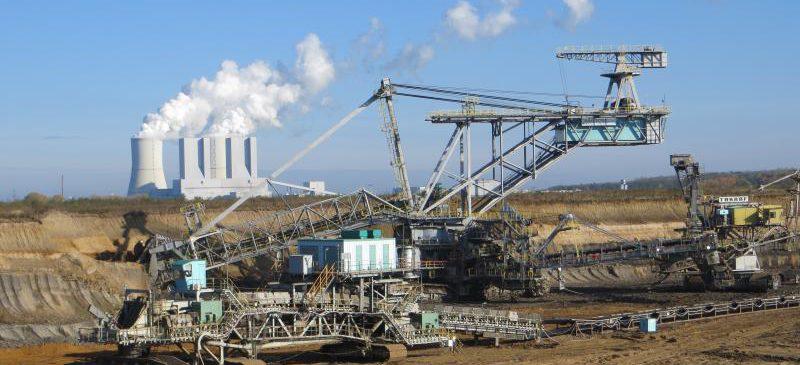 Befahrung im Tagebau Vereinigtes Schleenhain zu Geologie und Vorfeldarchäologie