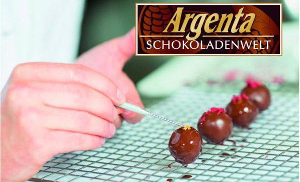 Schokoladige Präsentation bei Argenta Schokoladenwelt – 26.08., 14.00 Uhr