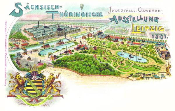 Führung »Soeben in Ausstellung angekommen...« – Der Clara-Zetkin-Park im Jahr 1897 mit Daniela Neumann – 25.08., 14.00 Uhr
