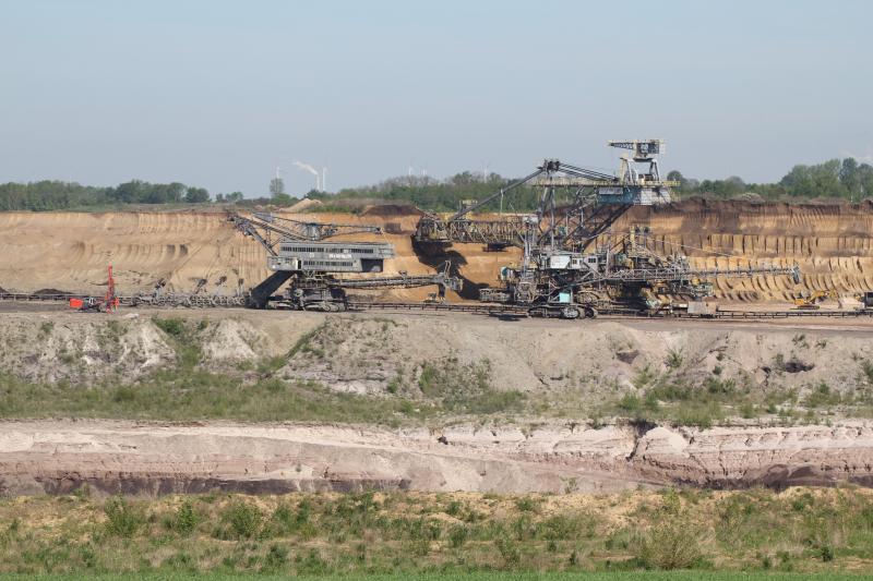 Befahrung im Tagebau Profen (Bagger 299 / Bagger 1541 / Absetzer 1104)