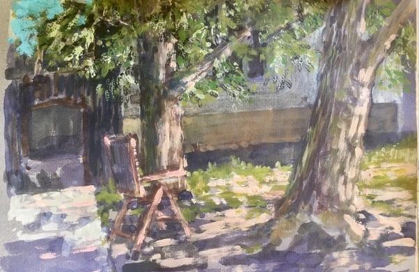Kunstausstellung von Anton Sandbichler und Führungen im Wasserturm Pegau