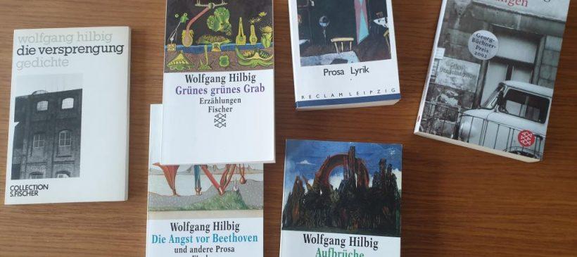 Veranstaltung fällt krankheitsbedingt aus! Lesung von Texten Wolfgang Hilbigs mit Christian von Aster