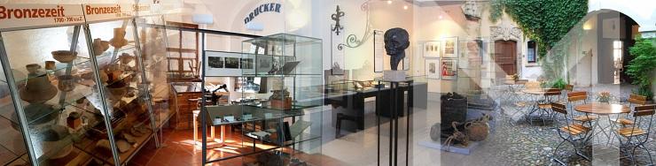 Führung durch die Ausstellung des Kulturhistorischen Museums Wurzen | Schwerpunkt: Manufakturgeschichte und Industriegeschichte mit Dr. Sabine Jung