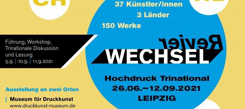 Trinationales Künstler/innengespräch im Rahmen der Ausstellung RevierWechsel – 10.09.2021, 18.00 Uhr