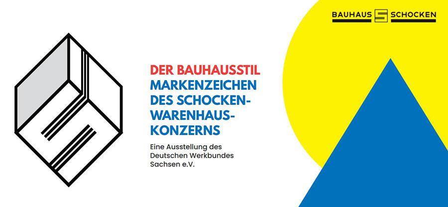 """Finissage der Ausstellung """"Der Bauhausstil – Markenzeichen des Schocken-Warenhauskonzerns"""" – 07.09.2021, 17.00 Uhr"""
