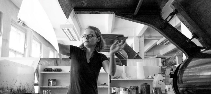 Lichtdruck – Erklärung und Vorführung mit der Lichtdruckerin Janine Kittler – 12.09.2021, 11.00–17.00 Uhr