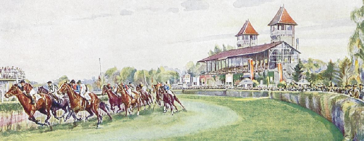 Buchvorstellung und Gespräch »Von Schönau ins Scheibenholz – 150 Jahre Galopprennen in Leipzig«