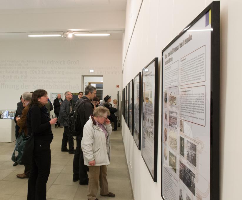 Ausstellungseröffnung »Leipzig wird groß – Die Leipziger Wirtschaft in den Jahren 1870 bis 1914«