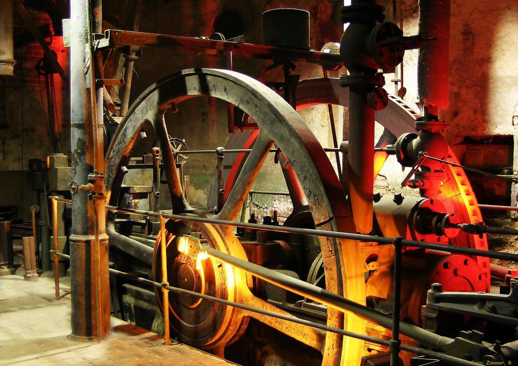 Ausstellung in der Brikettfabrik »Herrmannschacht« in Zeitz