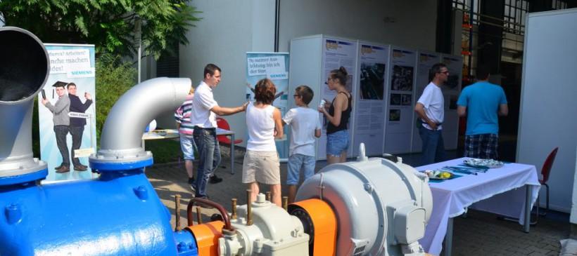 Führungen und Tag der offenen Tür bei Siemens Turbomachinery Equipment GmbH