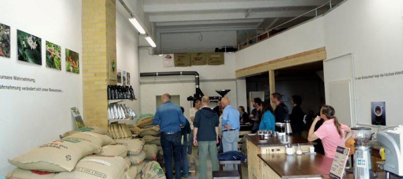 """Führung durch die Kaffeerösterei Alber """"Von der Bohne zum Espresso – Abläufe in einer Kaffeerösterei"""""""