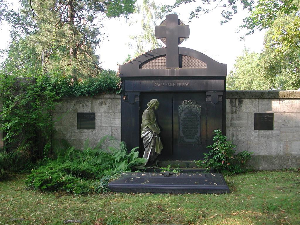 Führung durch den Friedhofsmeister Herrn Süß über den Plagwitzer Friedhof