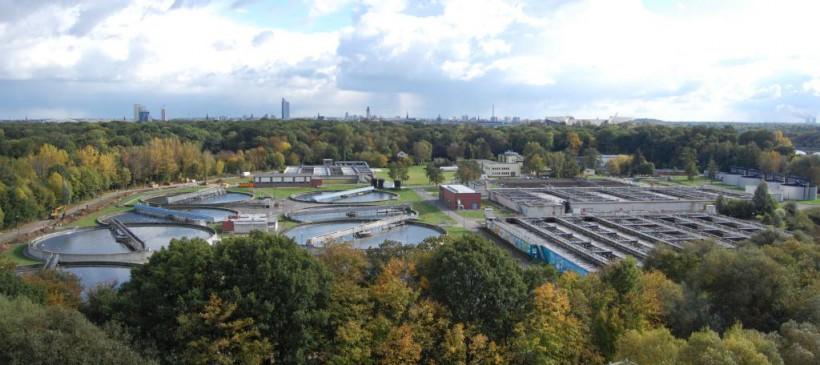 Führung zur Leipziger Abwasserbehandlung im Klärwerk Rosental