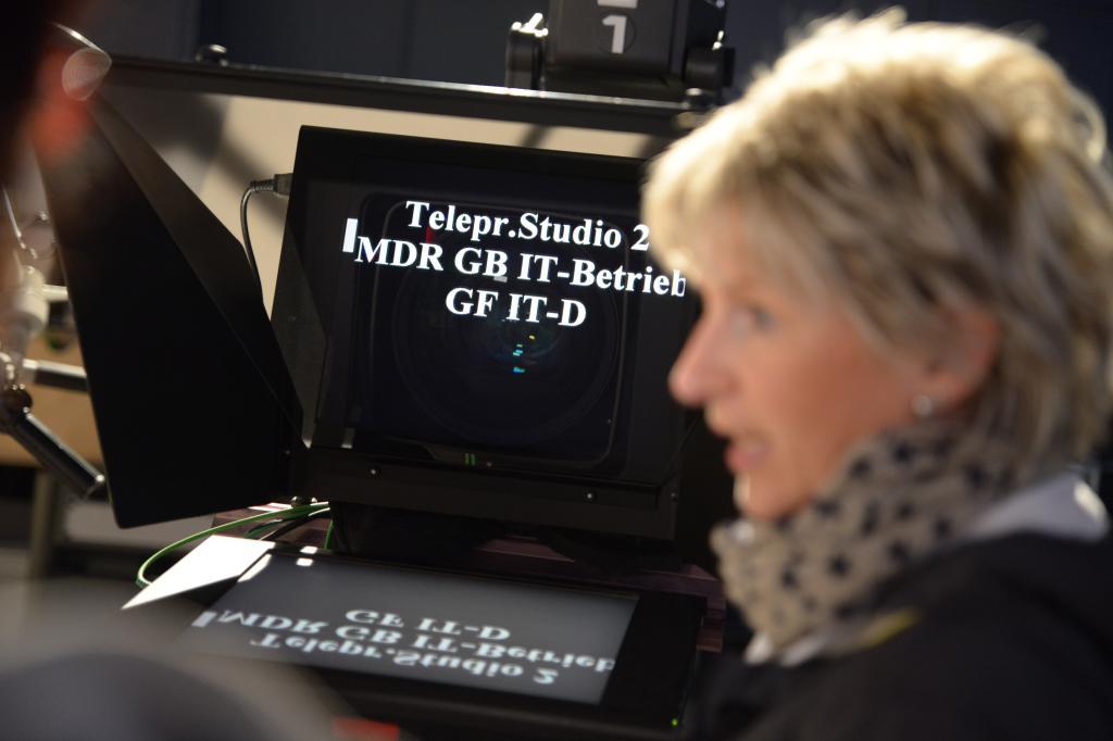 MDR-Studiotour mit Blick hinter die Kulissen der MDR-Sendezentrale und der media city leipzig