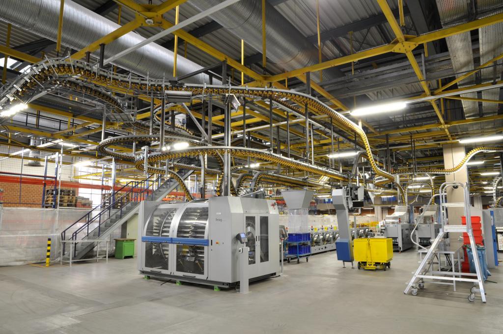 Führung durch die Drucktechnik in der Zeitungsdruckerei Leipzig-Stahmeln