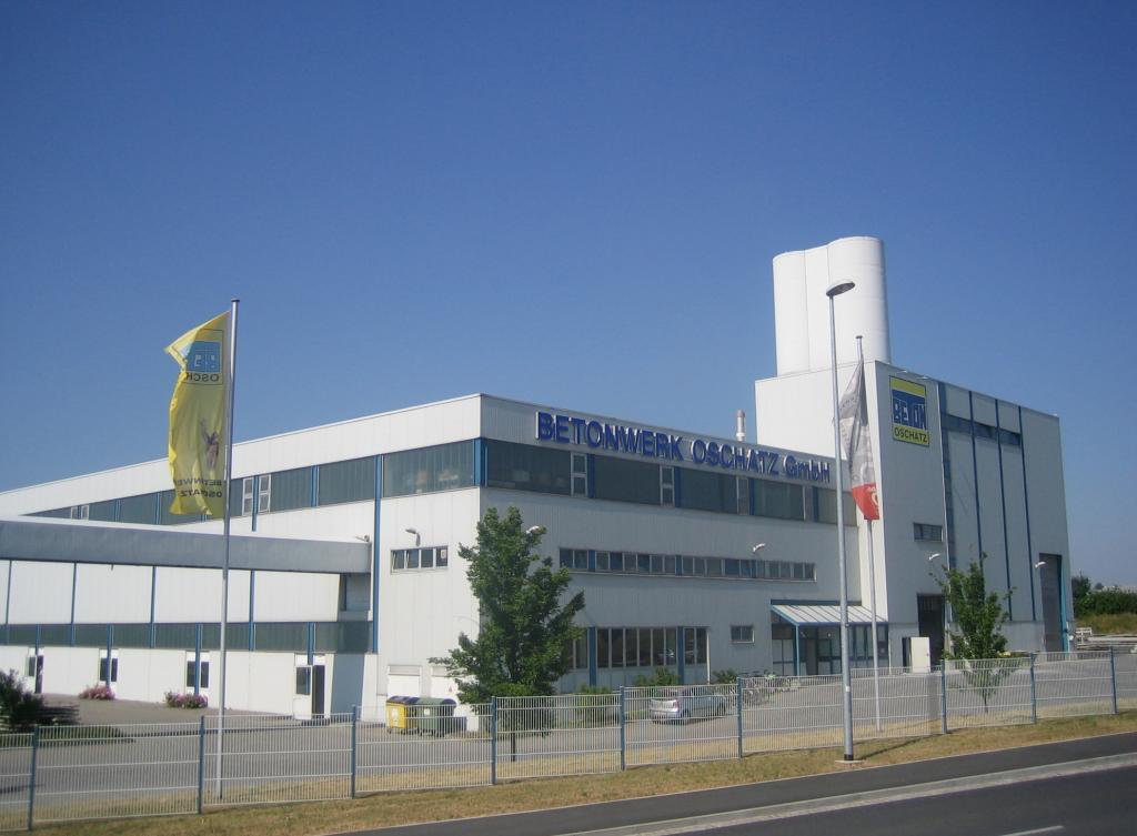 Betriebsführung bei der Betonwerk Oschatz GmbH