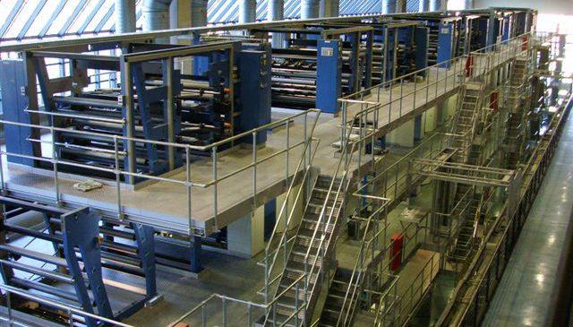 Führung durch die Drucktechnik der Zeitungsdruckerei Leipzig