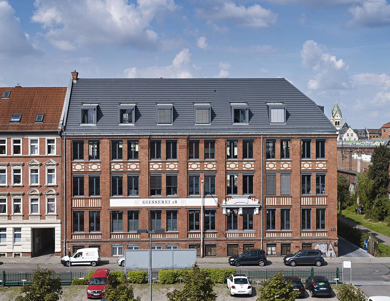 Führung durch den Gebäudekomplex Gießerstraße 18