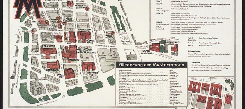 """Führung """"Messe – Muster – Goldmedaille: Ein Blick in das Archiv der Leipziger Messe"""""""