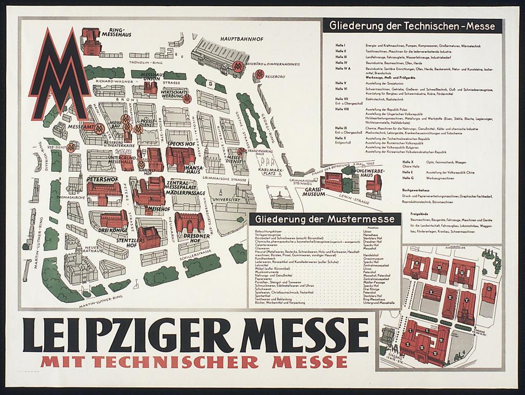 """Führung """"Messe - Muster - Goldmedaille: Ein Blick in das Archiv der Leipziger Messe"""""""