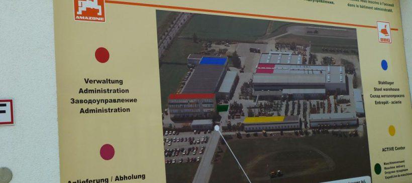 Besichtigung der Betriebsstätten der BBG Bodenbearbeitungsgeräte Leipzig GmbH bei einer Werksführung