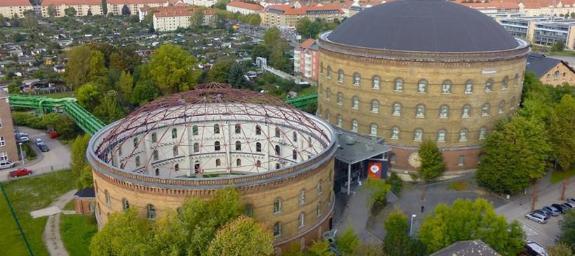 Arena am Panometer und Panometer Leipzig – Geschichte und gegenwärtige Nutzung der Gasometer 2