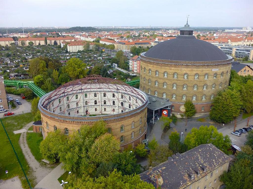 Arena am Panometer und Panometer Leipzig - Geschichte und gegenwärtige Nutzung der Gasometer 1