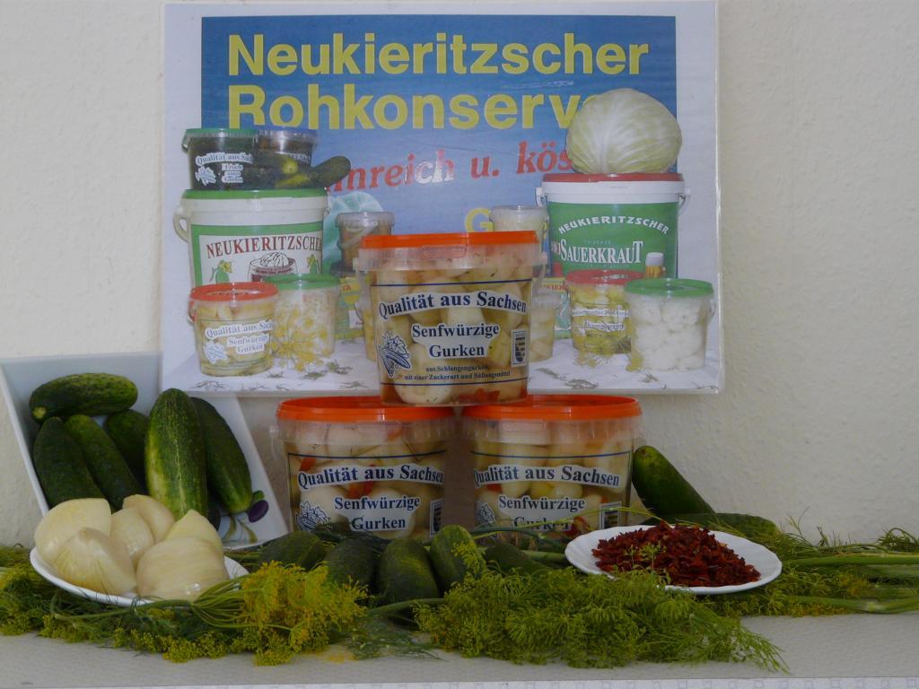 Firmenrundgänge und Gespräche in der Neukieritzscher Rohkonserven GmbH